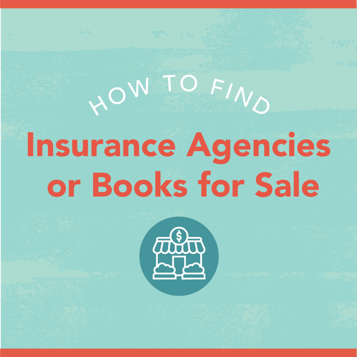 how to find insurance agencies or books for sale graphic